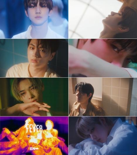 ENHYPEN、2ndミニアルバムの収録曲 「FEVER」MVティーザー映像サプライズ公開!