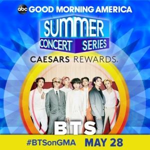 BTS、約2年ぶりに米ABC「グッドモーニングアメリカ・サマーコンサート」に出演!