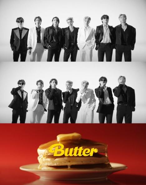 BTS、 「Butter」MVティーザー公開!強烈な白黒グループショットに 全世界のファンが熱視線集中!