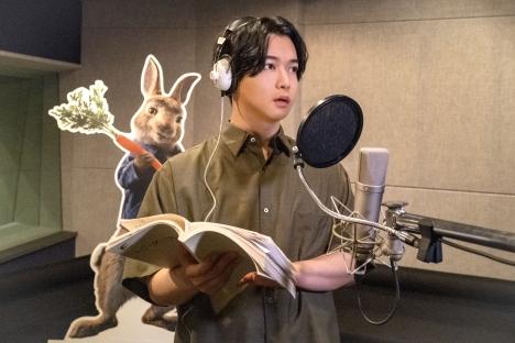 『ピーターラビット2/バーナバスの誘惑』千葉雄大と映画アフレコ初デビューの哀川翔のアフレコ映像到着!