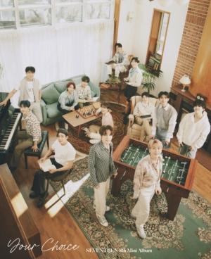 "SEVENTEEN 8th Mini Album 「Your Choice」 よりナチュラル姿のオフィシャルフォト""BESIDE Ver.""公開!"