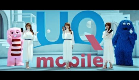 深田恭子と永野芽郁が分身のように次々と登場しUQ mobileの魅力を紹介する新CM放映&公開