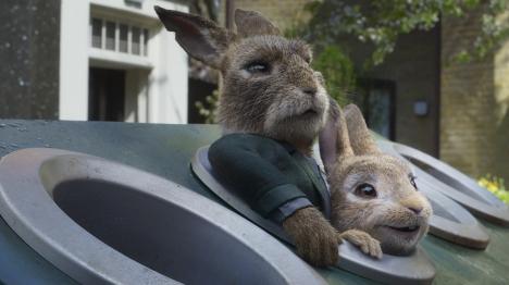 『ピーターラビット2/バーナバスの誘惑』ウサギたたきゲームが勃発?!その本編映像が解禁!