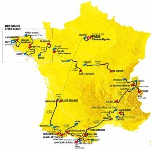 6月26日(土)開幕ツール・ド・フランス全21ステージライブ配信!