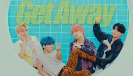 OWV 初のサマーソング「Get Away」音源先行配信開始、夏の衝撃をPOPに表現したMVも公開<br/>