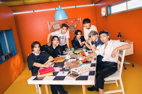 BTS「Butter」、米ビルボード6週連続1位の大記録!