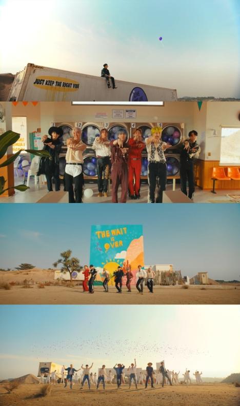 BTS、新曲「Permission to Dance」自由な雰囲気の中で心地よいエネルギーを伝えるMV公開