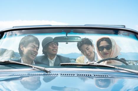 『キネマの神様』北川景子が運転する車で菅田将暉、永野芽郁、野田洋次郎がドライブする本編映像解禁