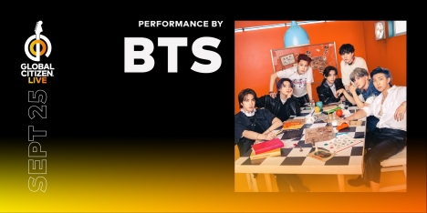 BTS、「2021 Global Citizen LIVE」に参加…世界を一つにつなぐ!