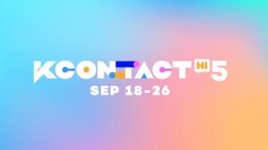 『KCON:TACT HI 5』 KCON OfficialとYoutubeにて9月18日(土)~26日(日)開催決定